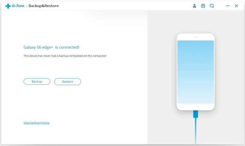 Android Datos Copia de Seguridad y Restauración Paso 1