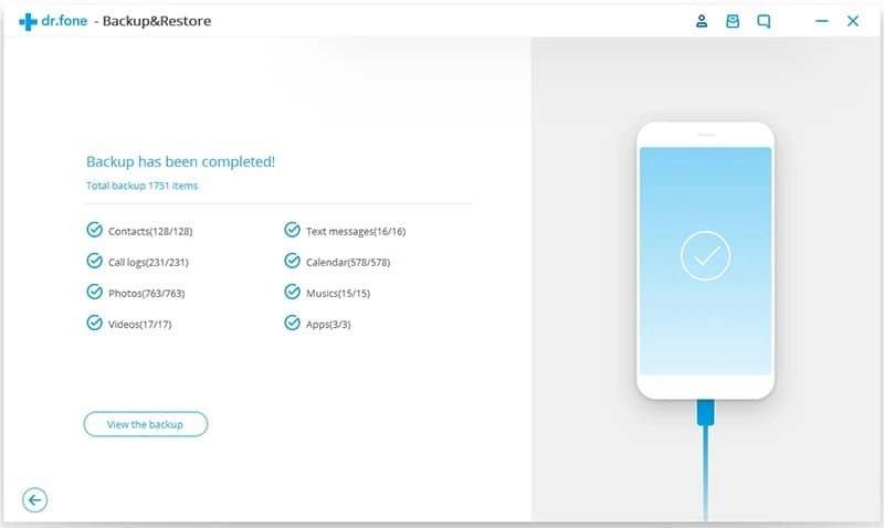Android Datos Copia de Seguridad y Restauración Paso 4