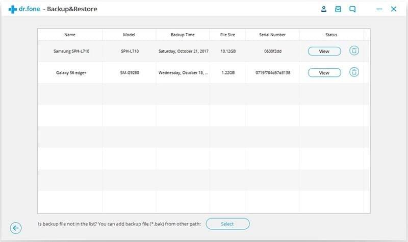 Android Datos Copia de Seguridad y Restauración Paso 5q