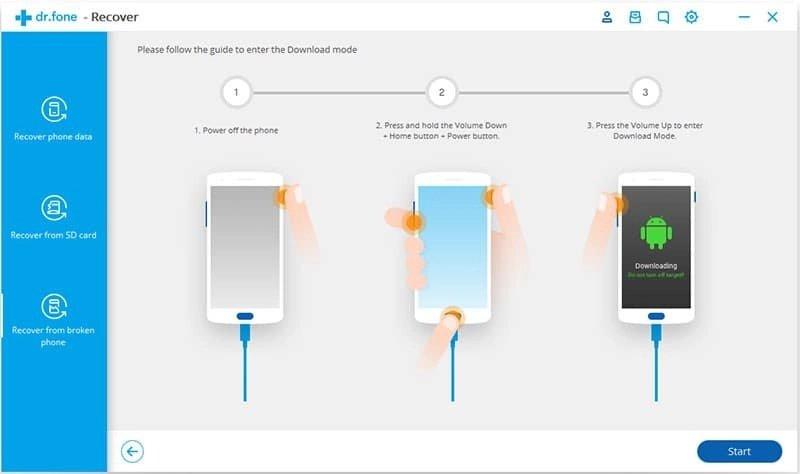 Android Datos Recuperación Paso 17