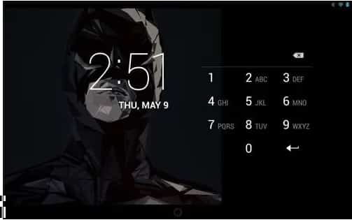 Bloquear la pantalla de Android